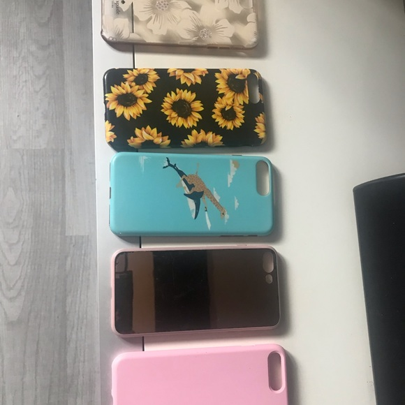iPhone 7/8 plus variety of cases